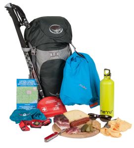 Lista di equipaggiamento per le escursioni