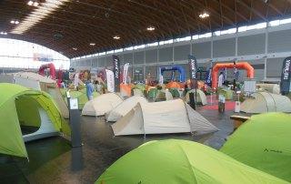 Tent City auf der Outdoor-Fachmesse in Friedrichshafen 2014