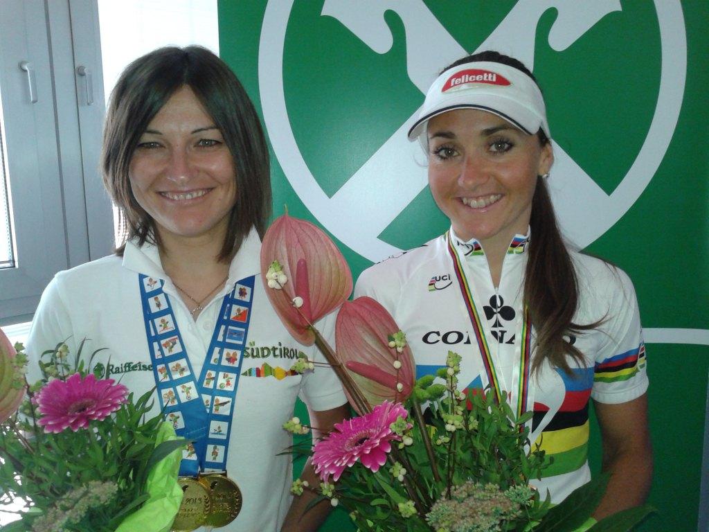 Renate Telser und Eva Lechner