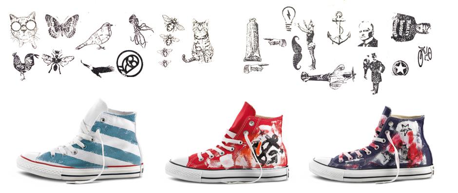 customize converse