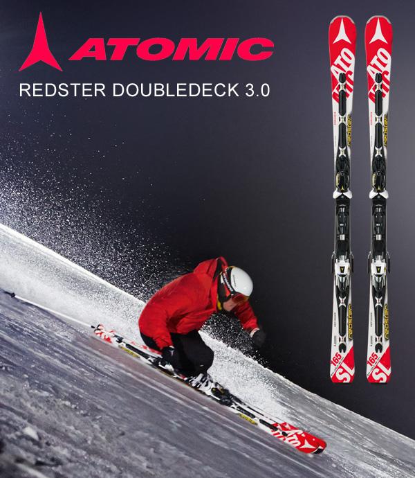 Gewinne die Ski Atomic Redster Doubledeck 3.0 SL