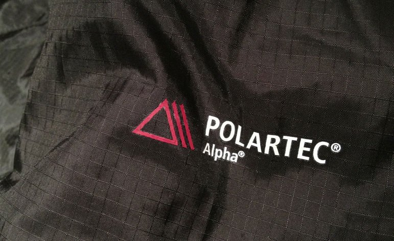 Jacke polartec alpha