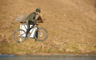 Inverno in bicicletta