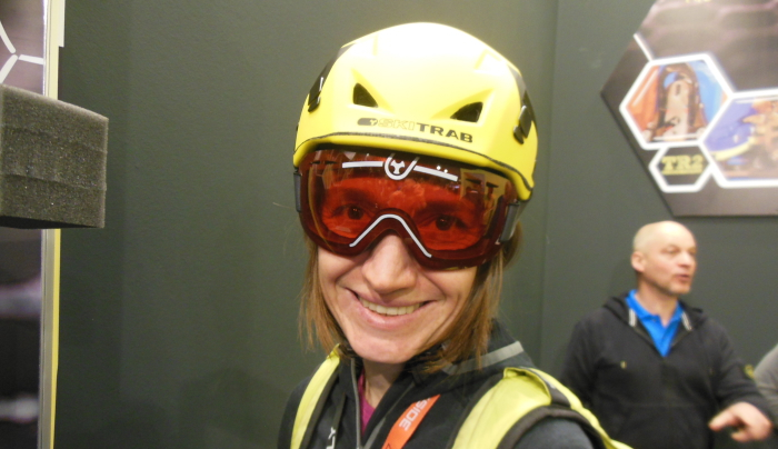 Der Skitourenhelm Attivo von Ski Trab