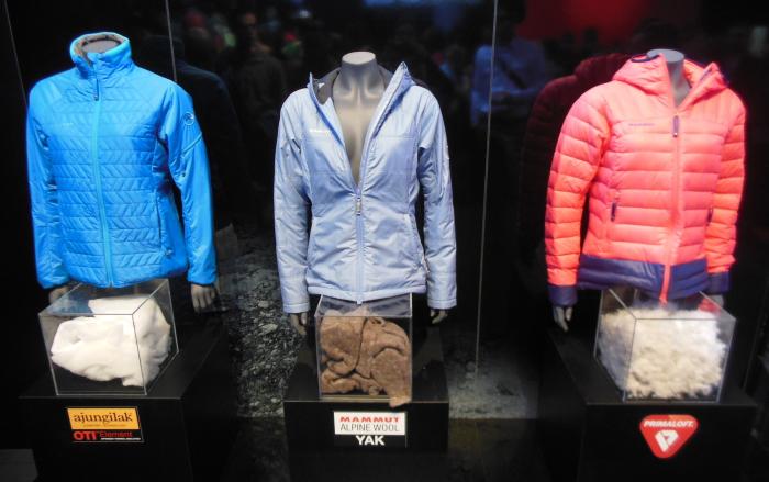 Wärmende Jacken von Mammut