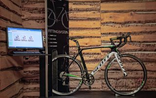Innovatives Bike Fitting System im Flagshipstore Bozen
