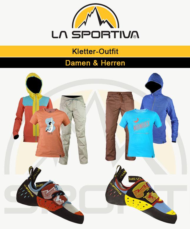 Kletteroutfit La Sportiva
