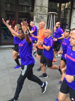 Haile Gebrselassie läuft für Adidas