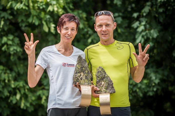 Annemarie Gross und Alexander Rabensteiner, Südtirol Ultra Skyrace 2015