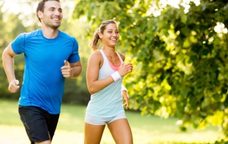 Laufen - Sport statt Medikamente