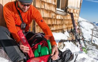 Scialpinismo in sicurezza: arva, pala e sonda