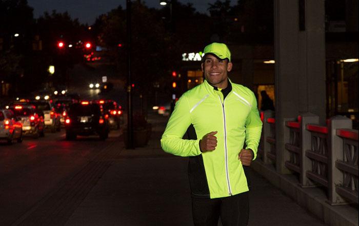 sicherheit beim laufen im winter reflektoren