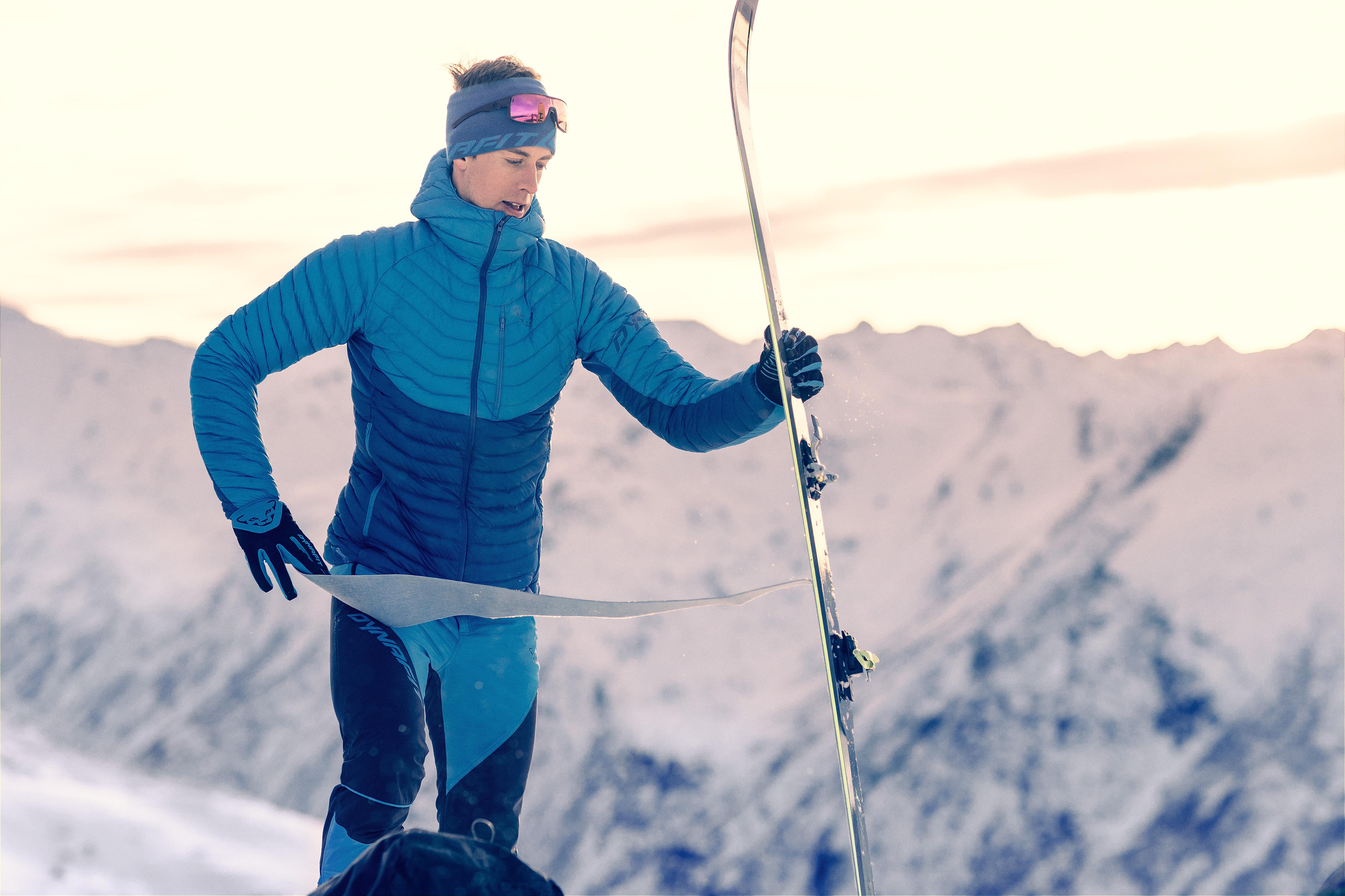 Pelli da scialpinismo per scalare l'inverno