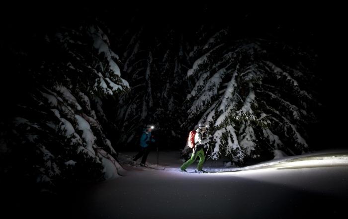 Nachtskitouren