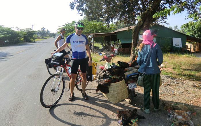 Radreise von Bangkok nach Saigon