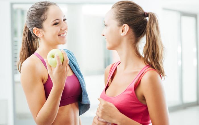 Abnehmen mit Sport und gesunder Ernährung
