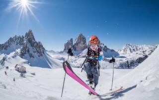 Drei Zinnen Ski Raid 2016