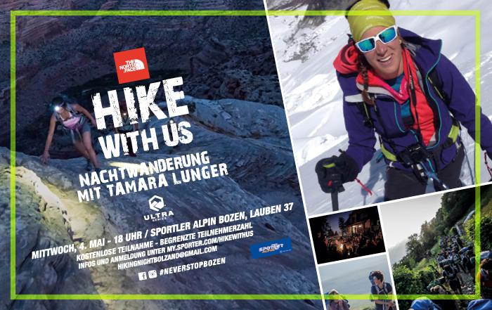 Hiking Night: Nachtwanderung mit Tamara Lunger