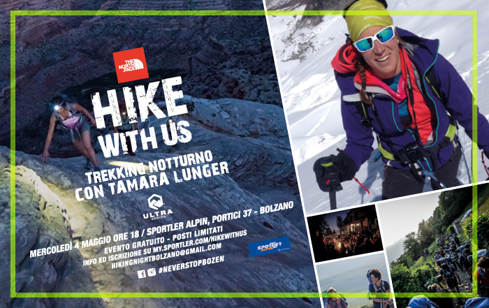 Hiking Night: Trekking notturno con Tamara Lunger