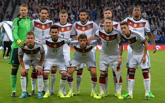 EM 2016 Fußballtrikot - deutsche Nationalmannschaft
