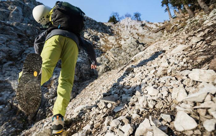 Vibram Megagrip: die optimale Sohle im felsigen Gelände