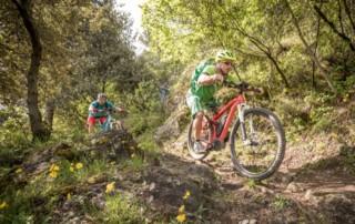 E-Mountainbike mit Bosch Motoren