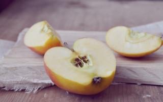 Apfelreste auf dem Berg
