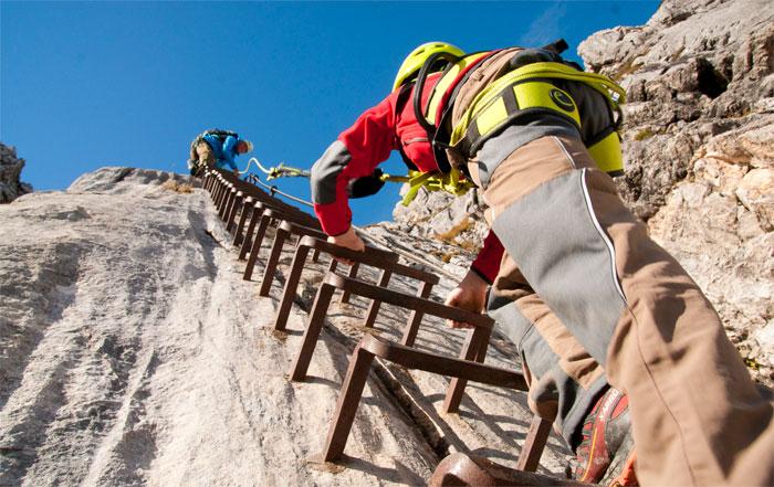 Klettersteigset Kind : Klettersteige mit kindern my sportler