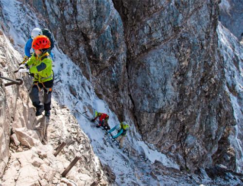 Klettersteige mit Kindern