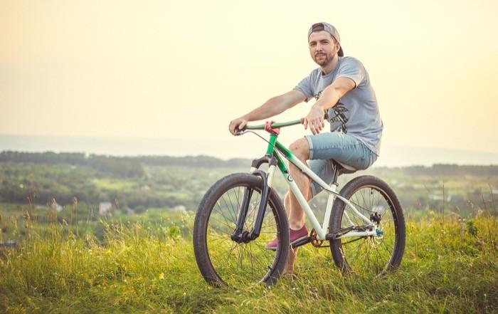 Fahrradfahren ist gesund