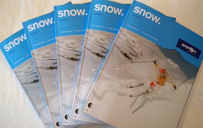 Der neue snow. Katalog 2016/17 ist da!