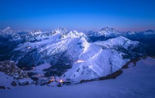 Skigebiete Alpen