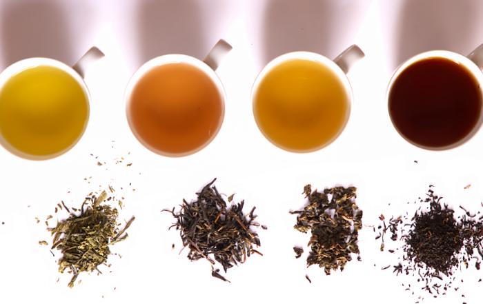 tipi di tè