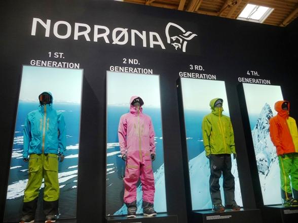 Abbigliamento sportivo ecosostenibile - Norrona