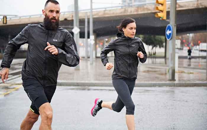 shakedry gore wear running