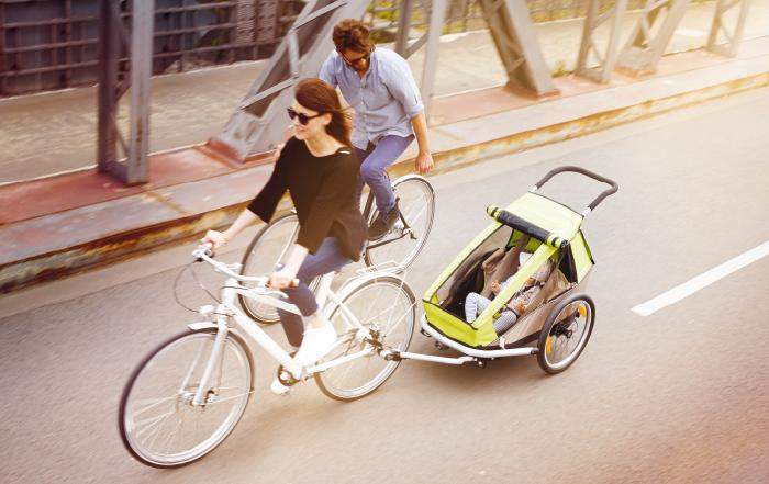 Un tour in e-bike con i bambini