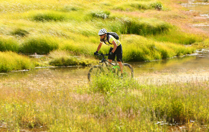 e-bike und Wasser