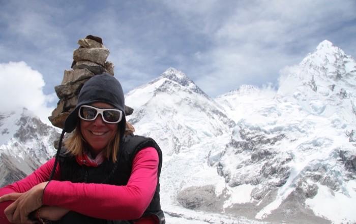 Interview mit Bergsteigerin Heidi Sand: Mount Everest als Belohnung für den Sieg gegen den Krebs