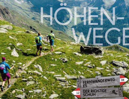 New! SPORTLER Magazine 'Höhenwege'.