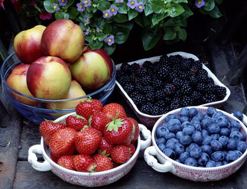 Gesunde Nahrungsmittel im Vergleich