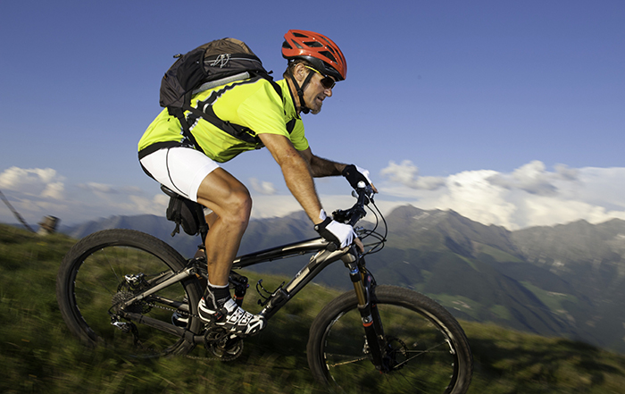 Hör auf dein Herz beim Mountainbiken