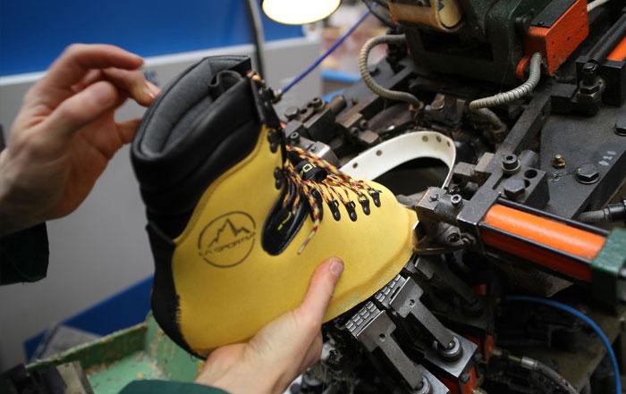 La Sportiva Schuhe Produktion