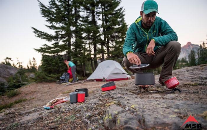 draussen kochen campingkueche