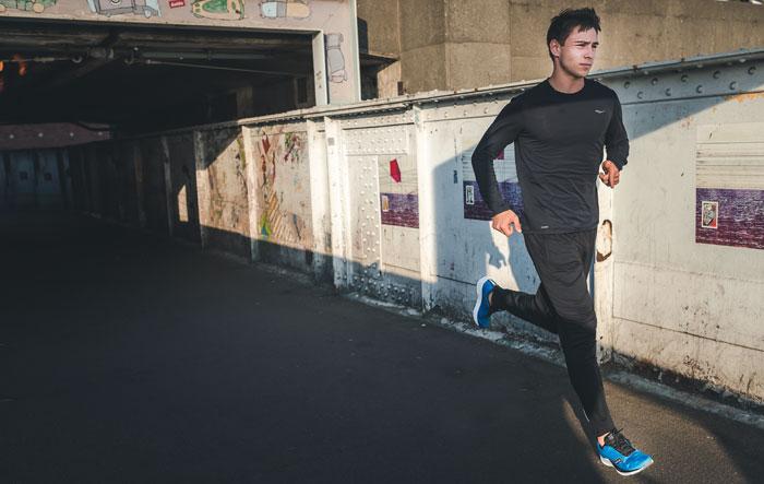 contrazioni muscolari e la corsa